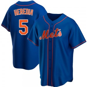Men's New York Mets Guillermo Heredia Royal Alternate Jersey - Replica