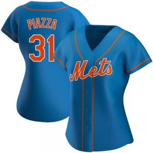 Women's New York Mets Mike Piazza Royal Alternate Jersey - Authentic